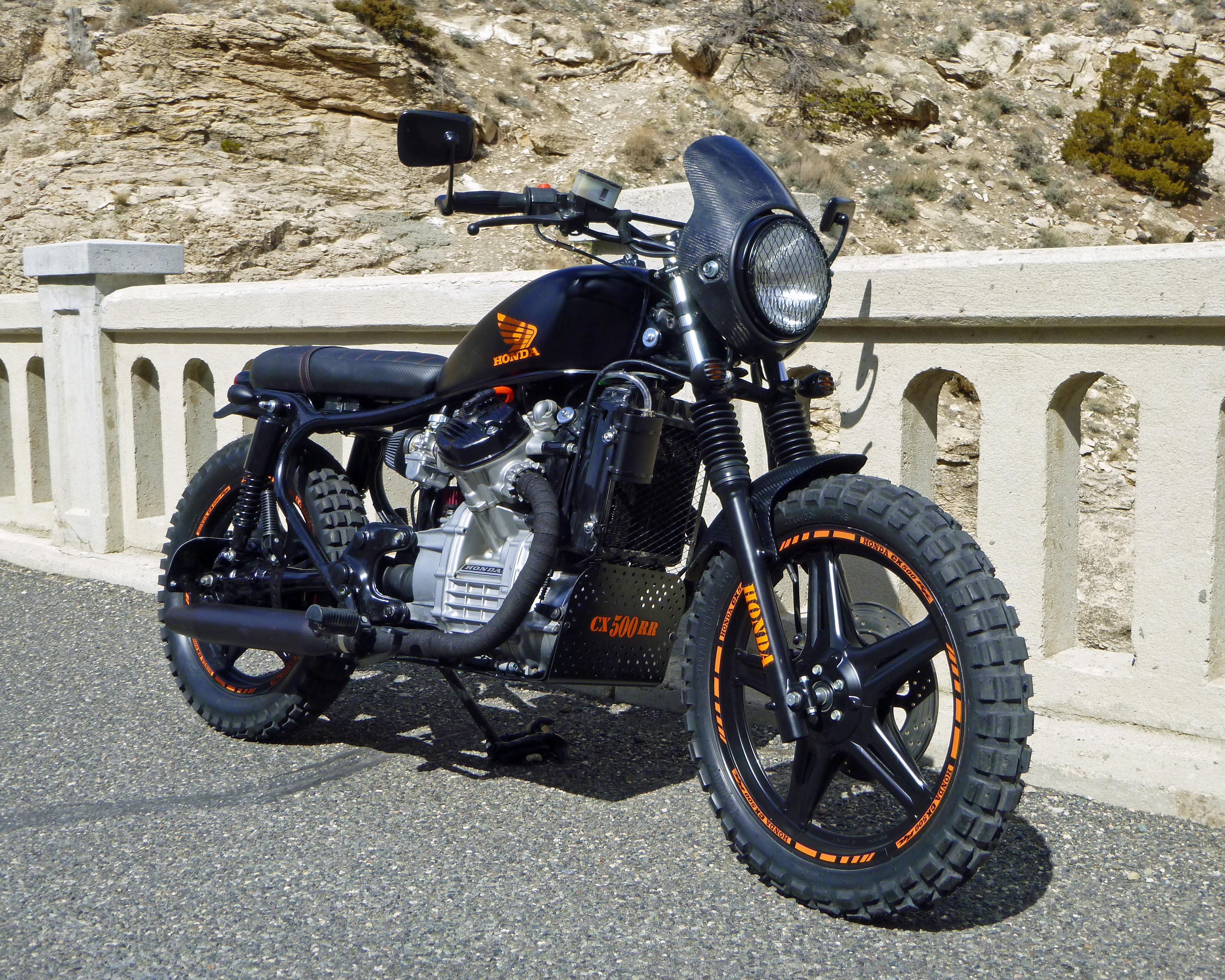 Honda Cx500 For Sale >> 82 CX 500 RR Street Tracker, Custom Brat Style bike Must ...
