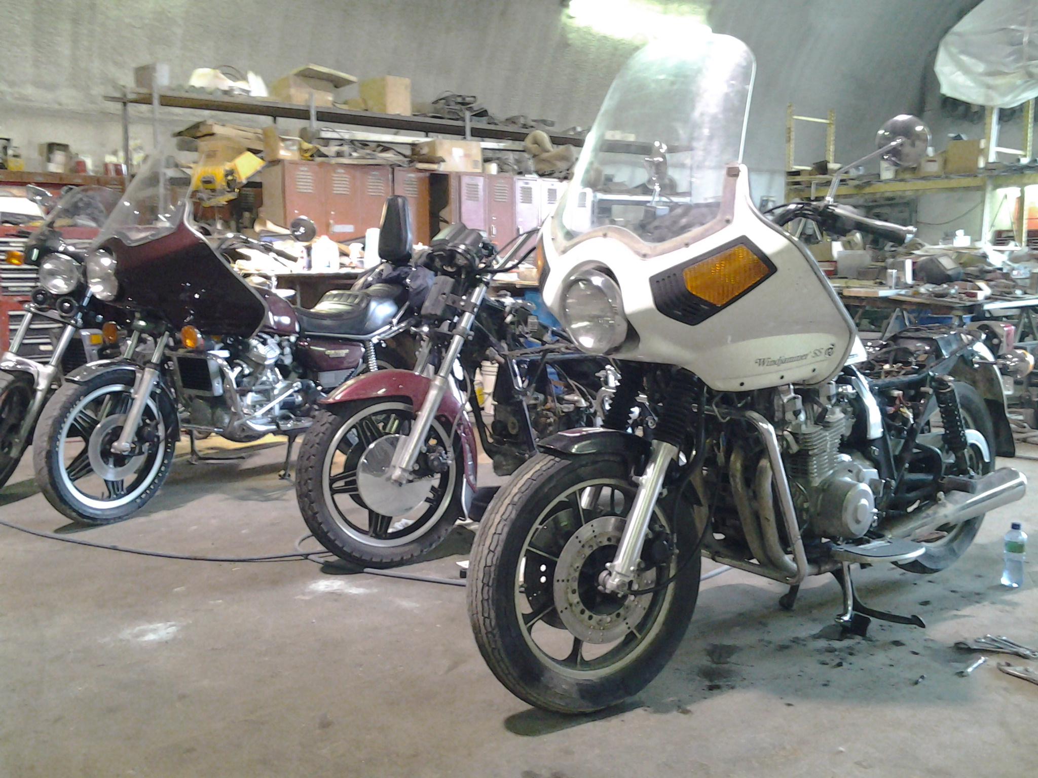 A free 1981 GL 1100 Interstate given to me! - Page 2