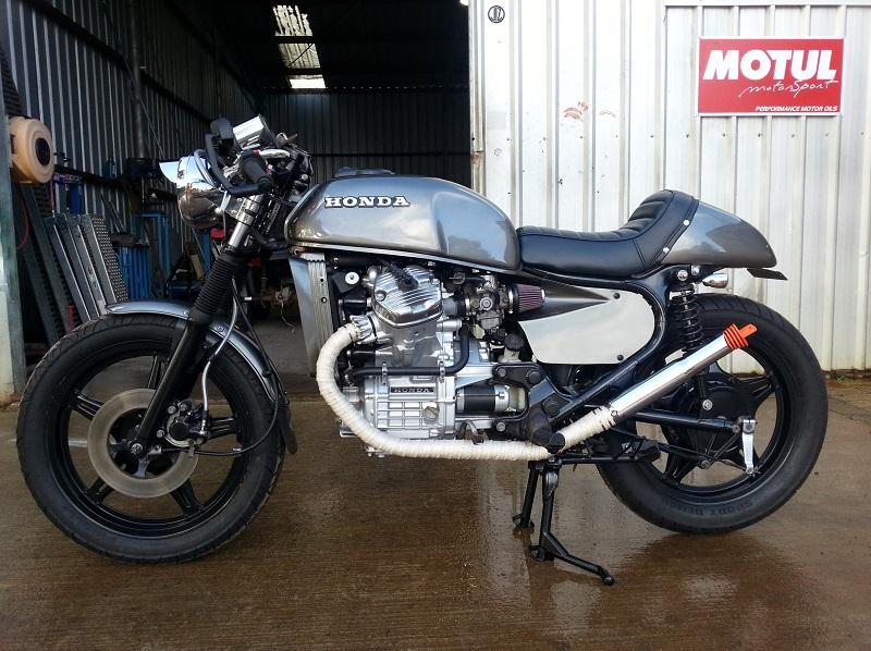 cx500 cafe racer recent build