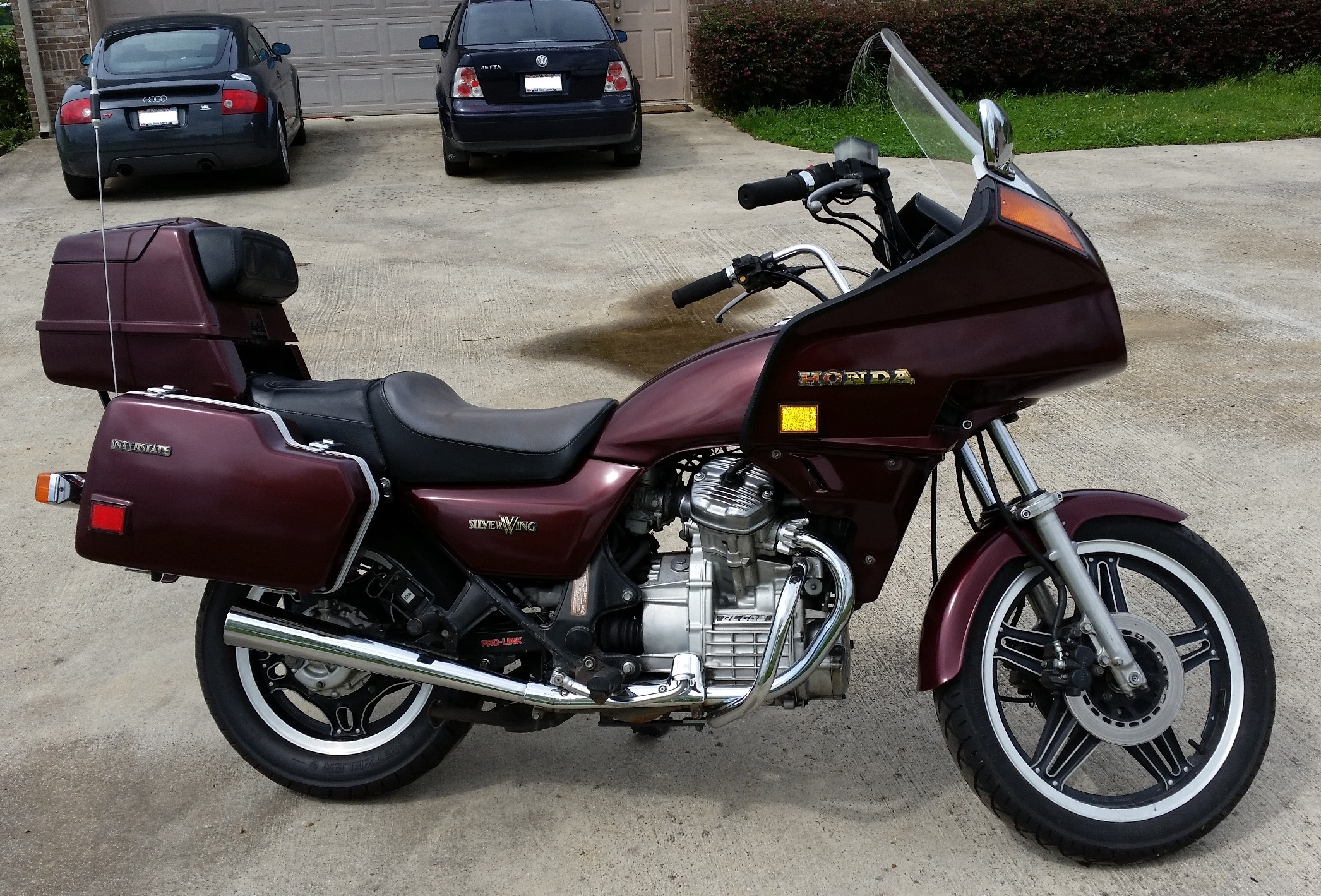 1982 Honda Gl500i Silverwing For Sale
