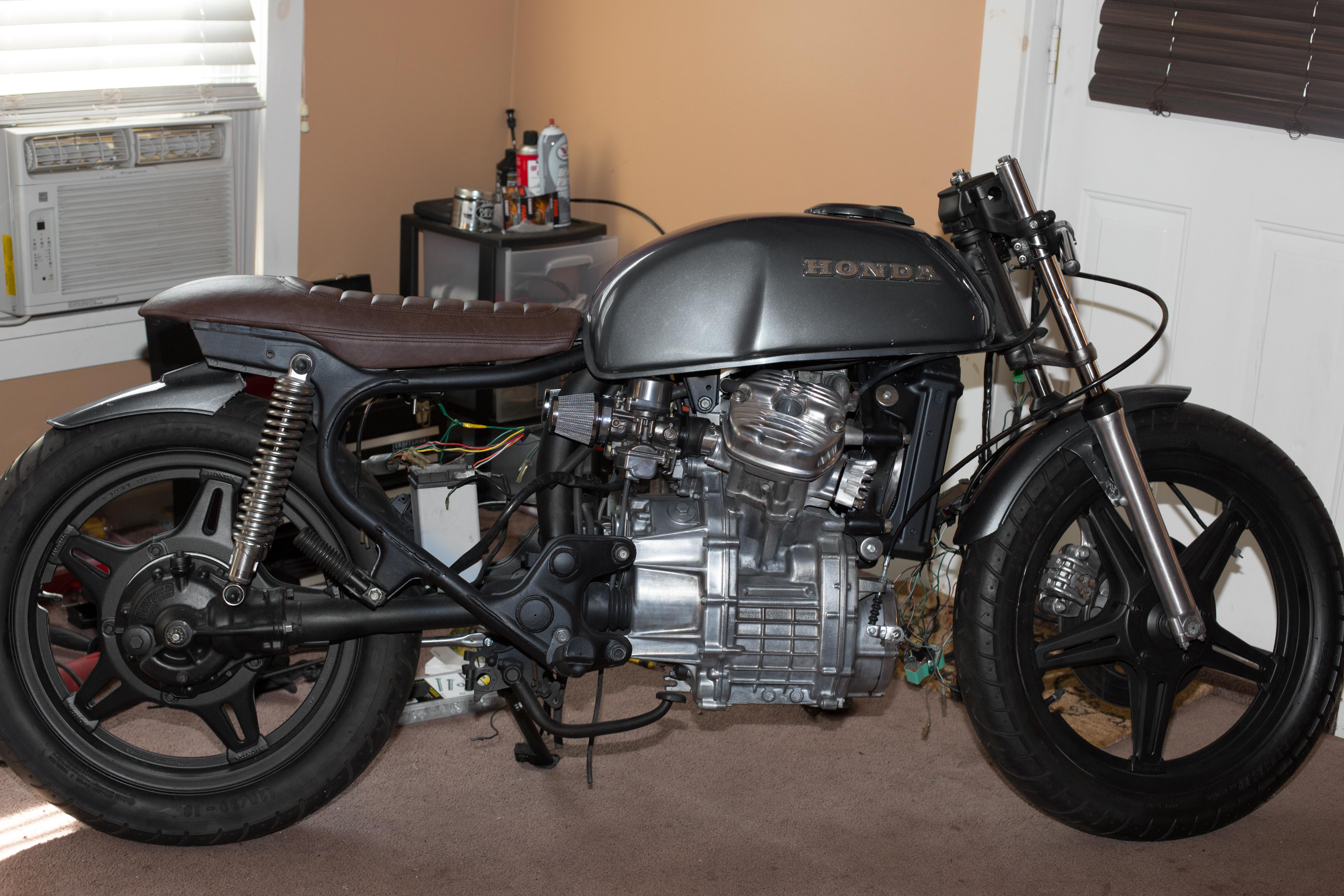 "78' cx500 cafe racer project—""in search of"" - page 3"