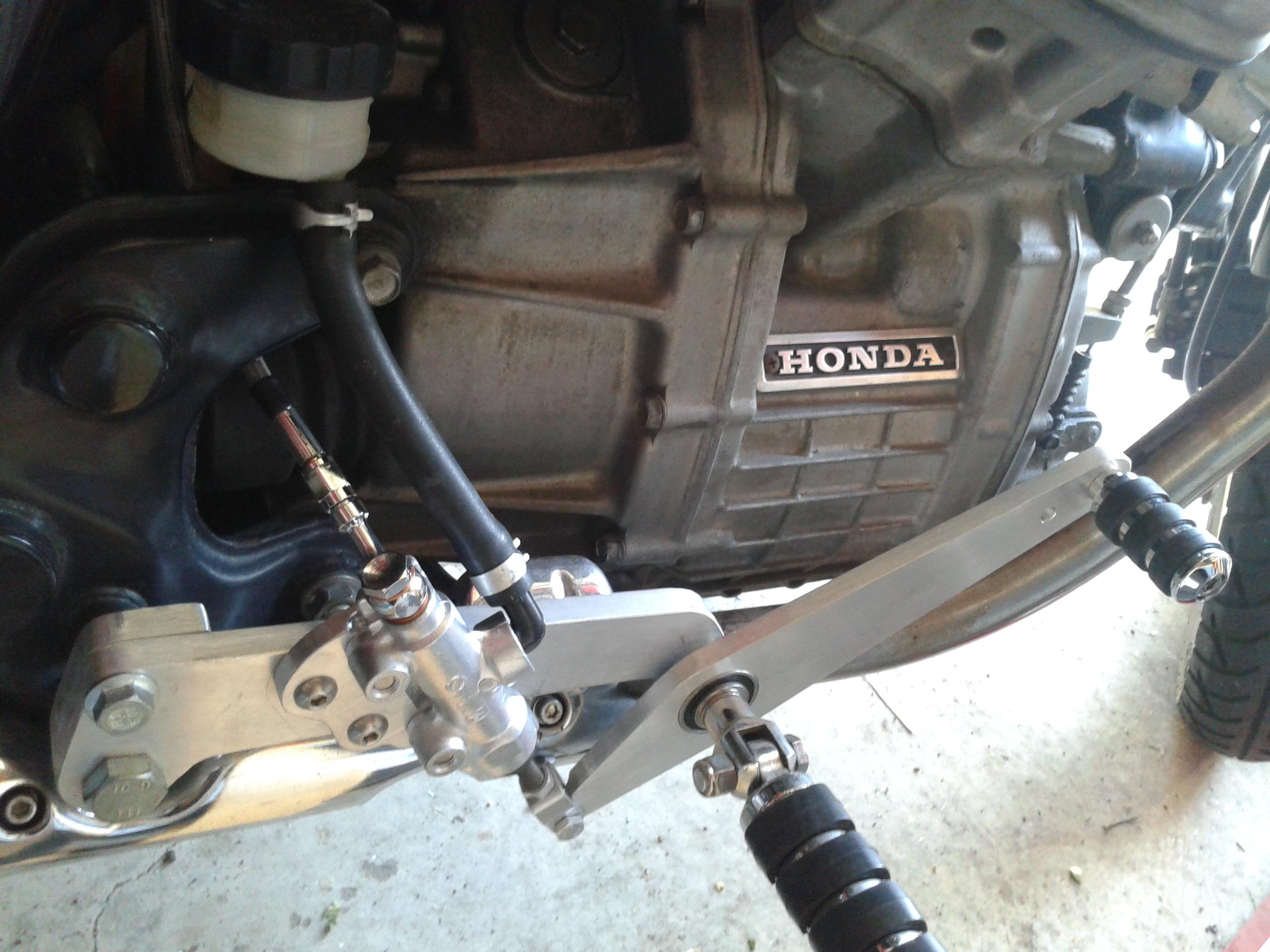 Rear Brake Conversion To Disc