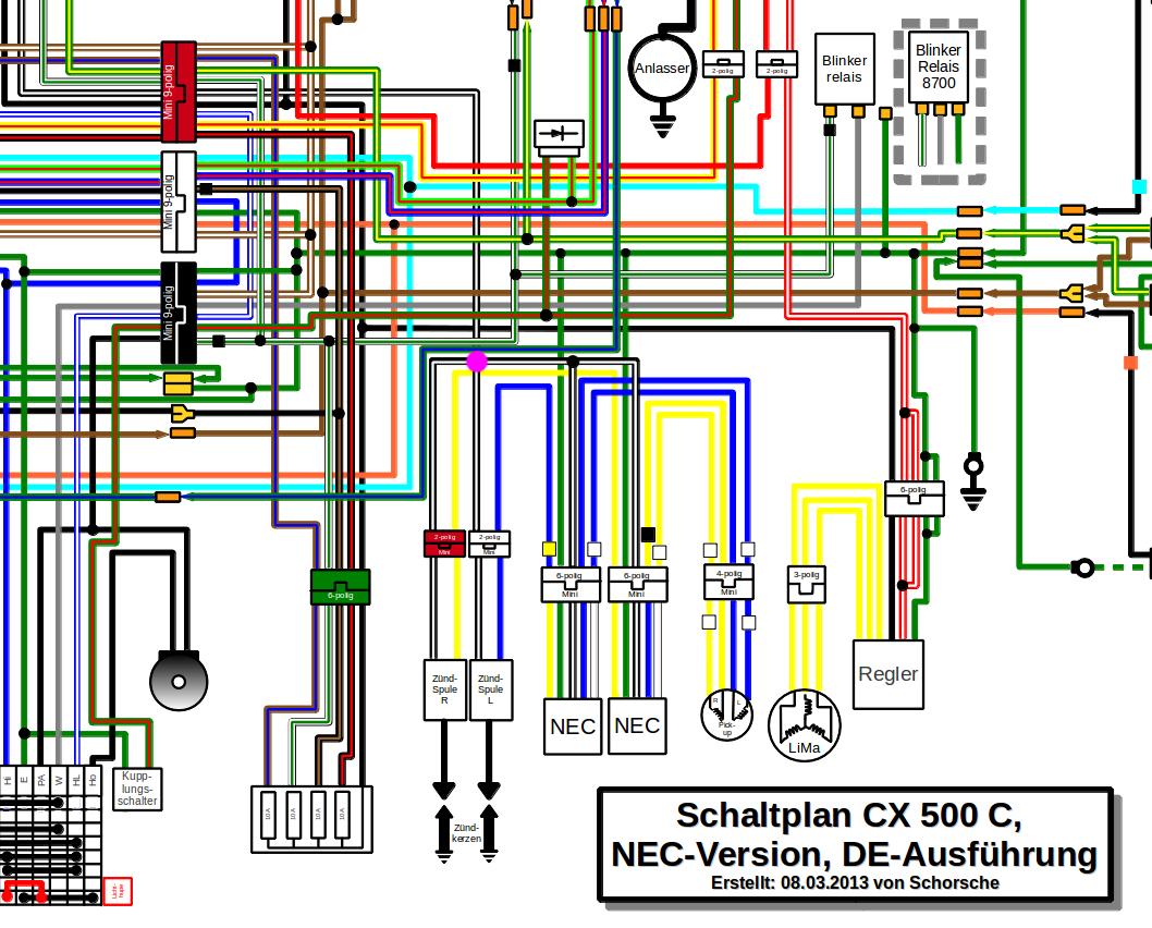 CX500 E Sports - Service Manual + Wiring Diagram | Honda CX 500 ForumCX500 Forum