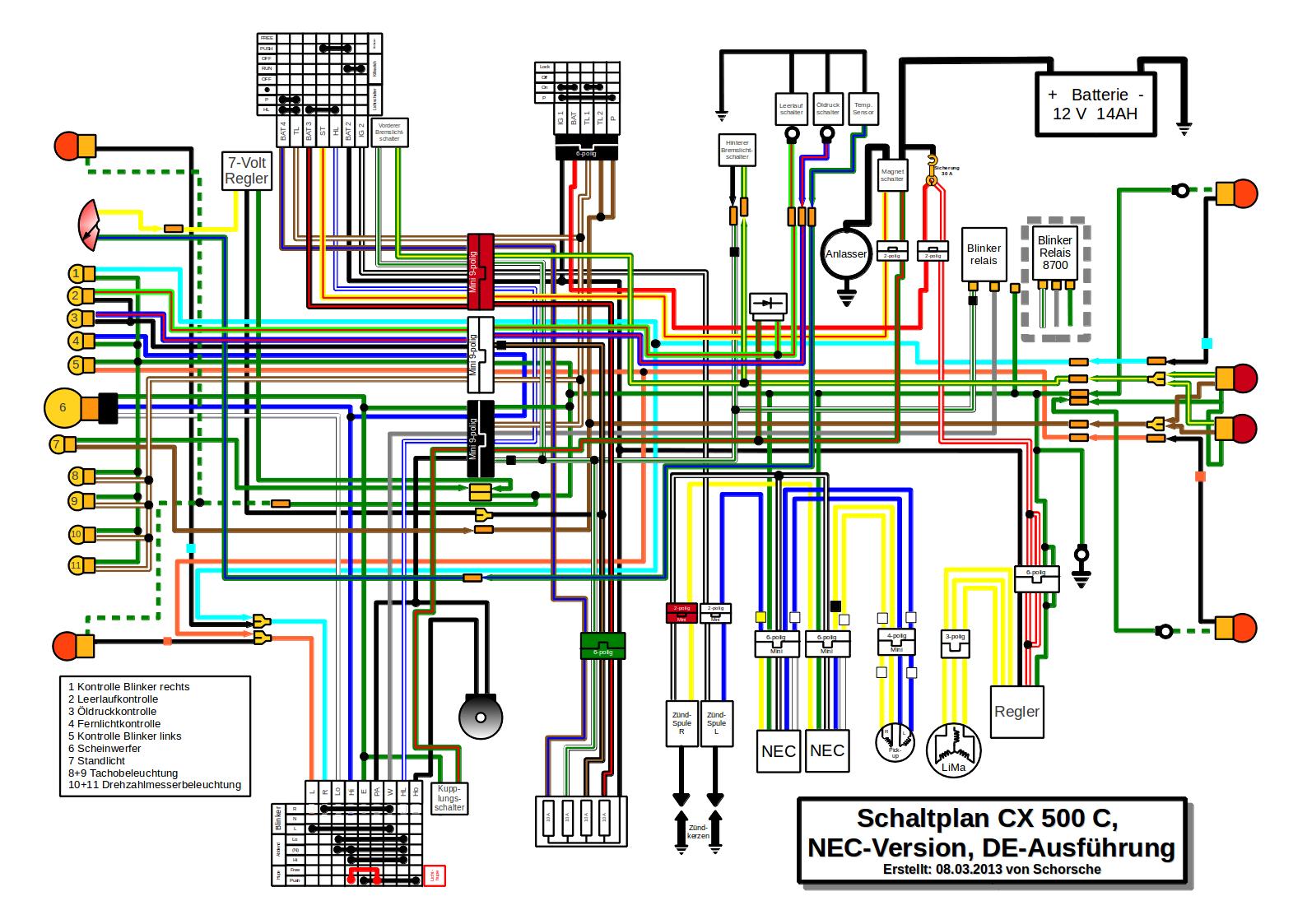Cx500 Wiring Diagram - seniorsclub.it wires-drama - wires -drama.pietrodavico.it