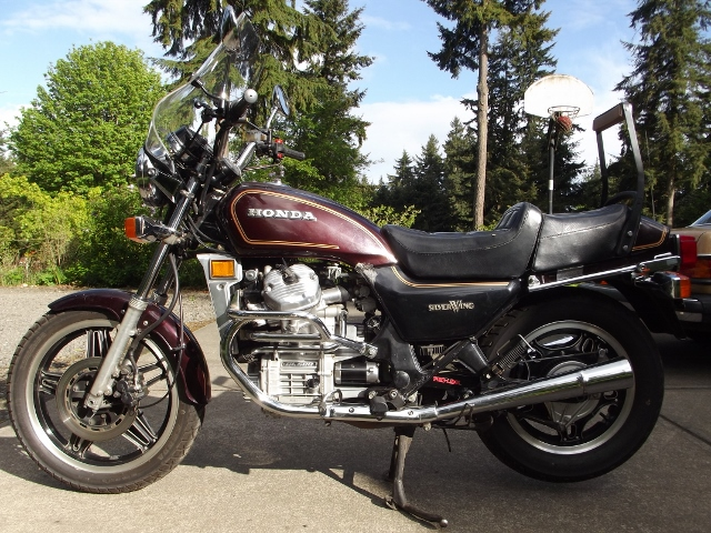 1981 Gl500 Silverwing For Sale