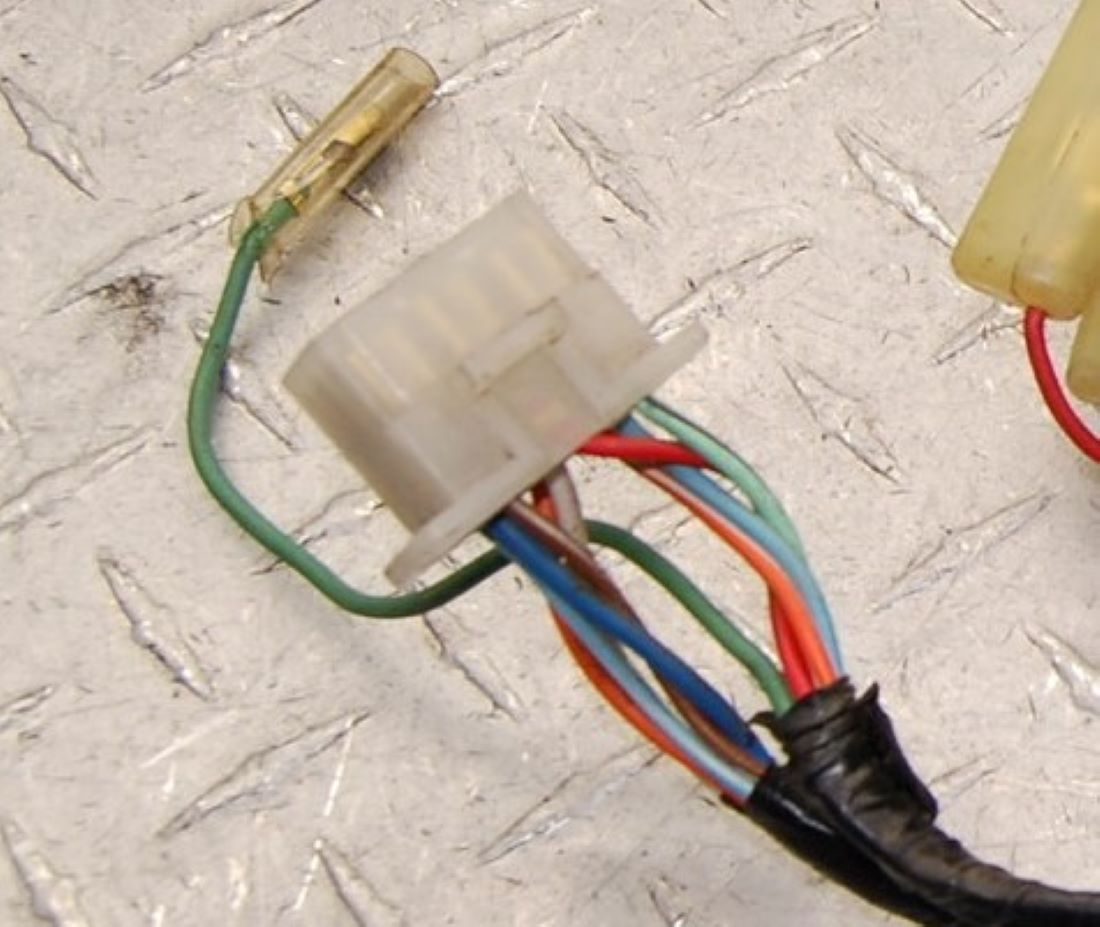 WTB – Wire harness for Fairing only - I just need this for ... Fairing Wire Harness on