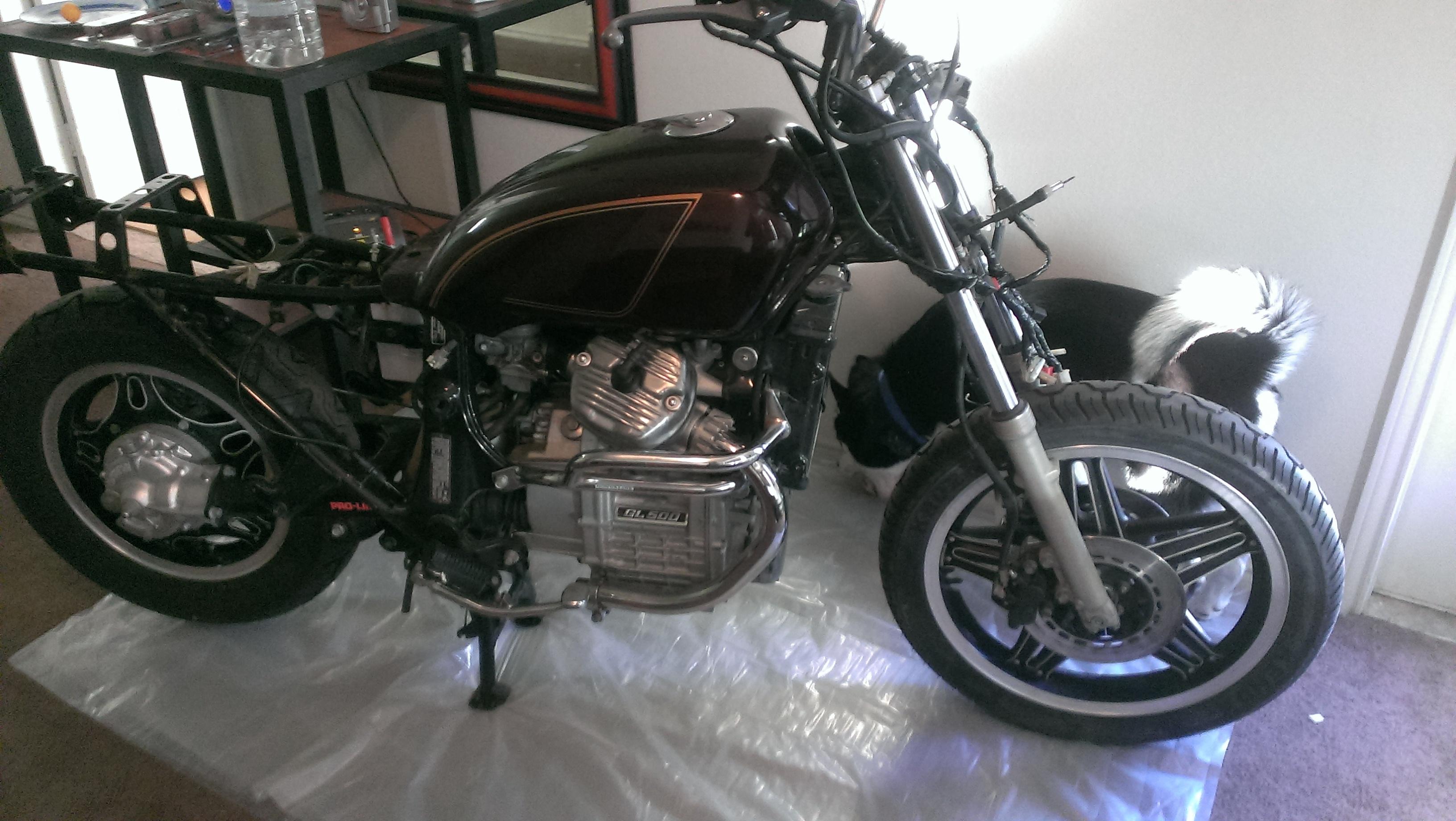 1982 Honda Gl500 Silverwing Rebuild 1970 Silver Wing Motorcycles Name Imag0957 Views 3904 Size 142 Mb