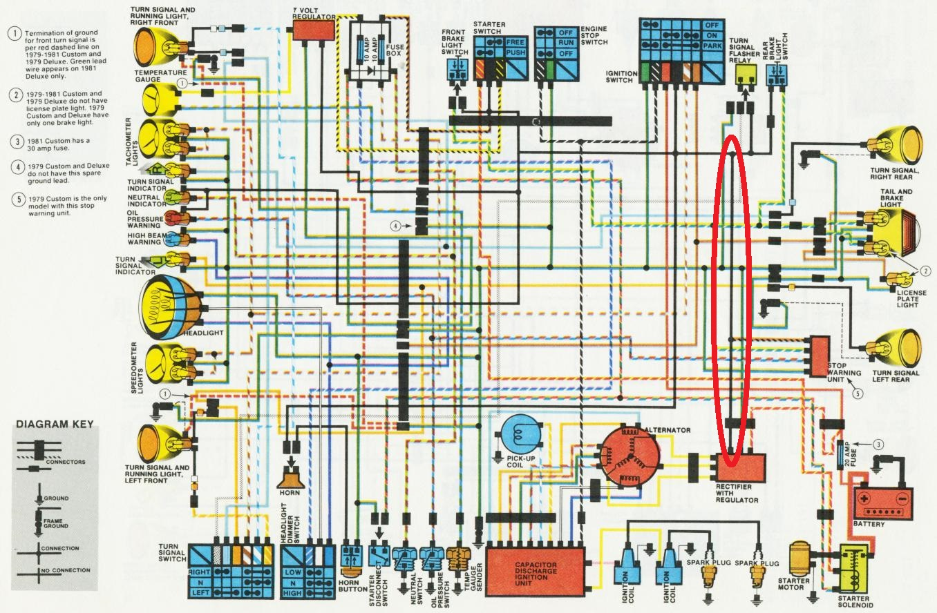 mosfet wiring diagram mosfet install question honda cx 500 forum  mosfet install question honda cx 500