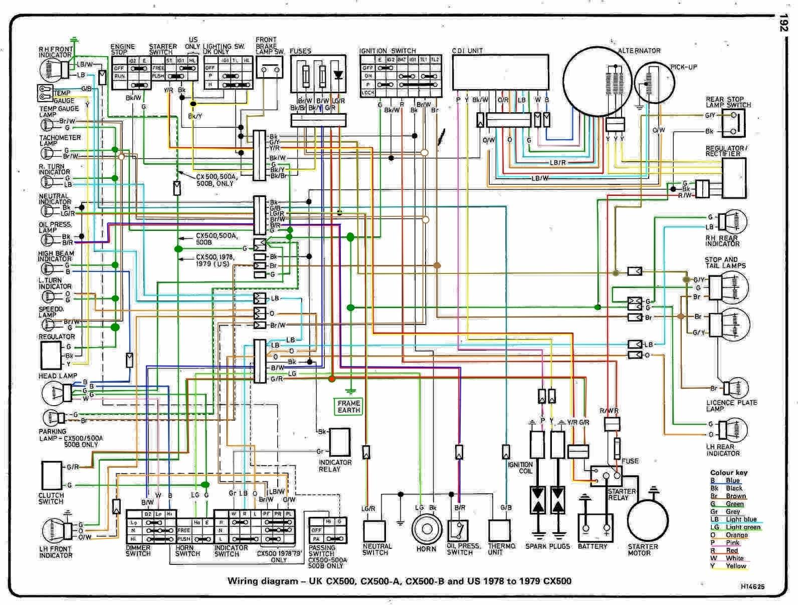 Mini Speedometer Wiring Diagram Harness Schematics Electronic The Orange Wire Speedo Help Rh Cx500forum Com Electric Gauge