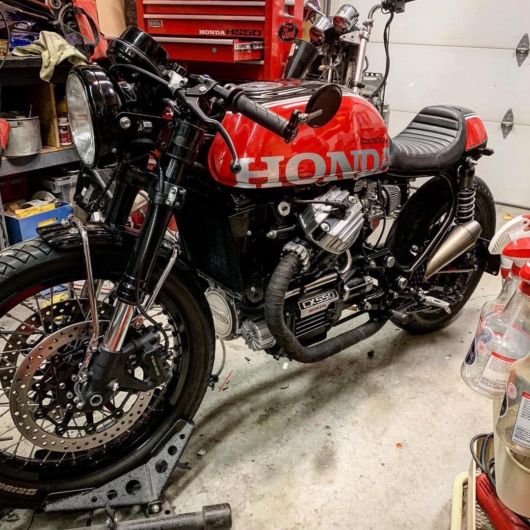 Honda 1983 CX650 CX 650 CX500 Engine Head Bolts