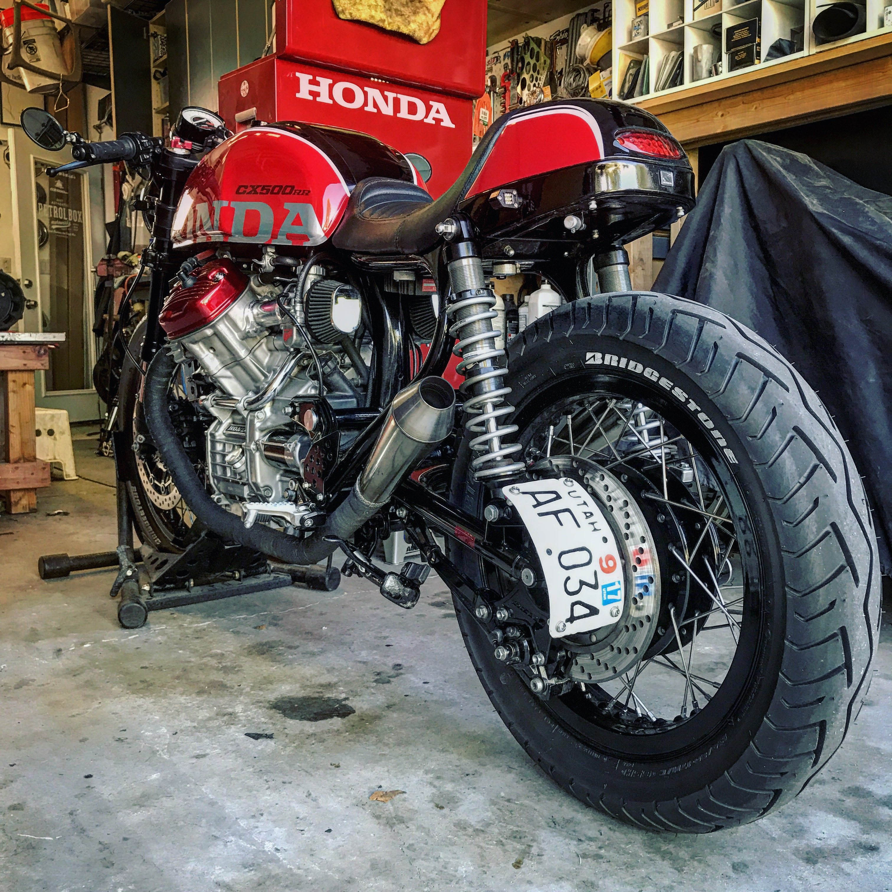 1978 Honda Cx500 Tire Size: Check In And Post Your Pictures!