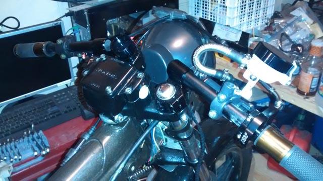 Aftermarket temp gauge fits in ignition spot