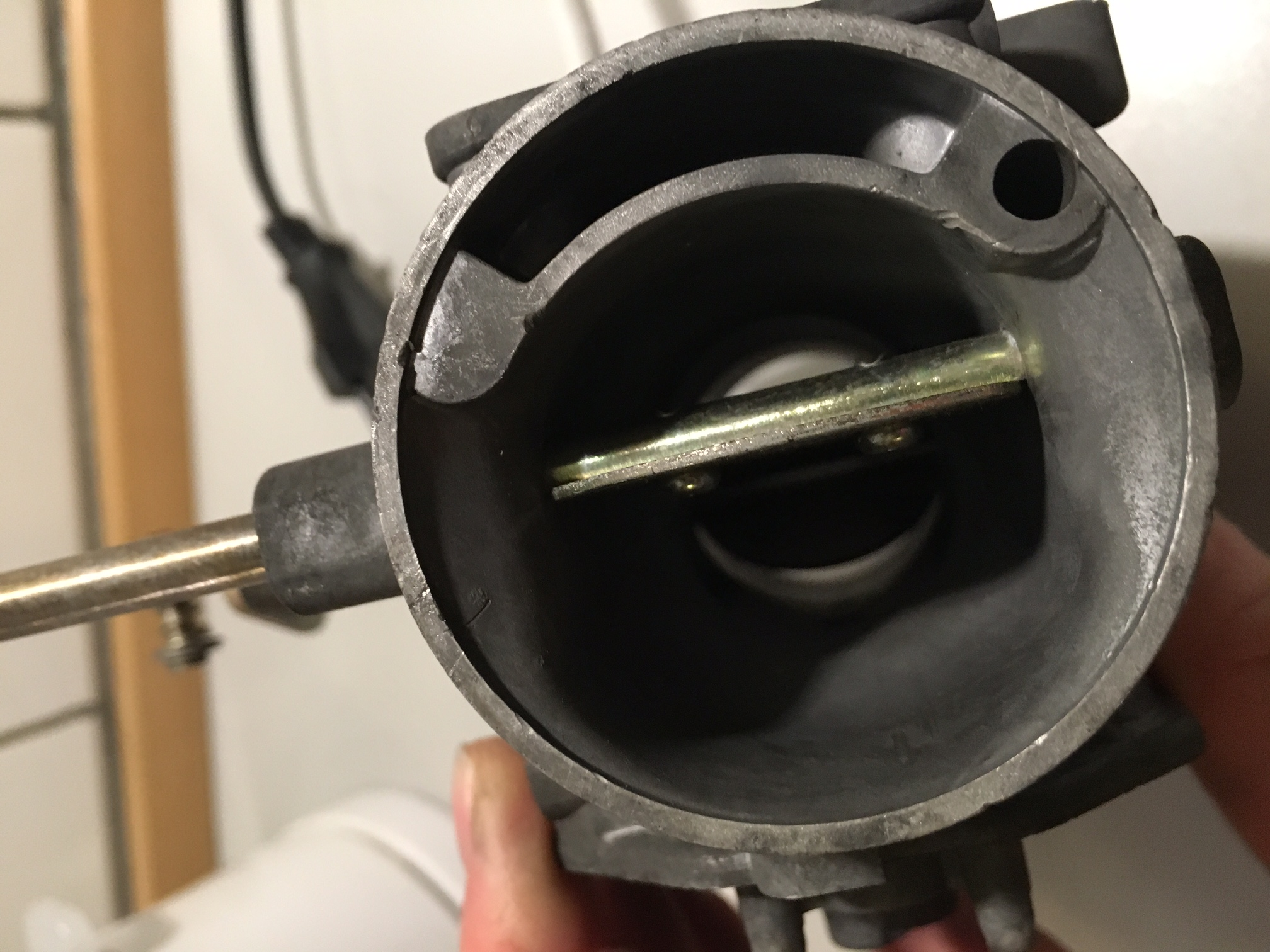 Carbs came out black after ultrasonic cleaning