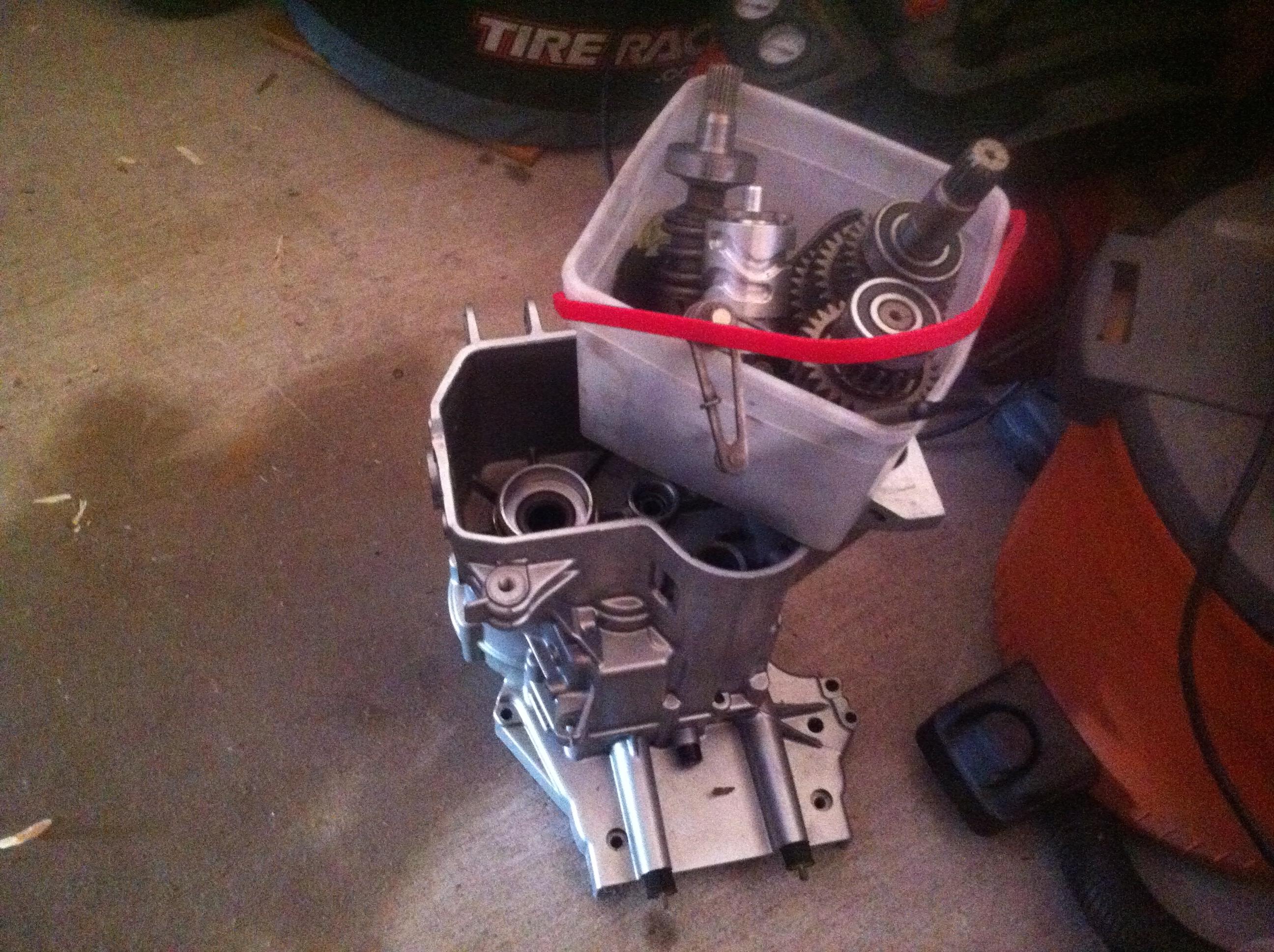 Selling BMW transmission parts