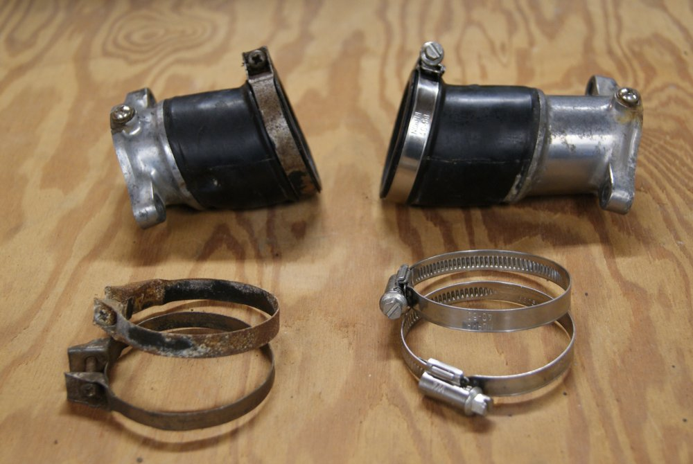 Name:  New carb clamps.jpg