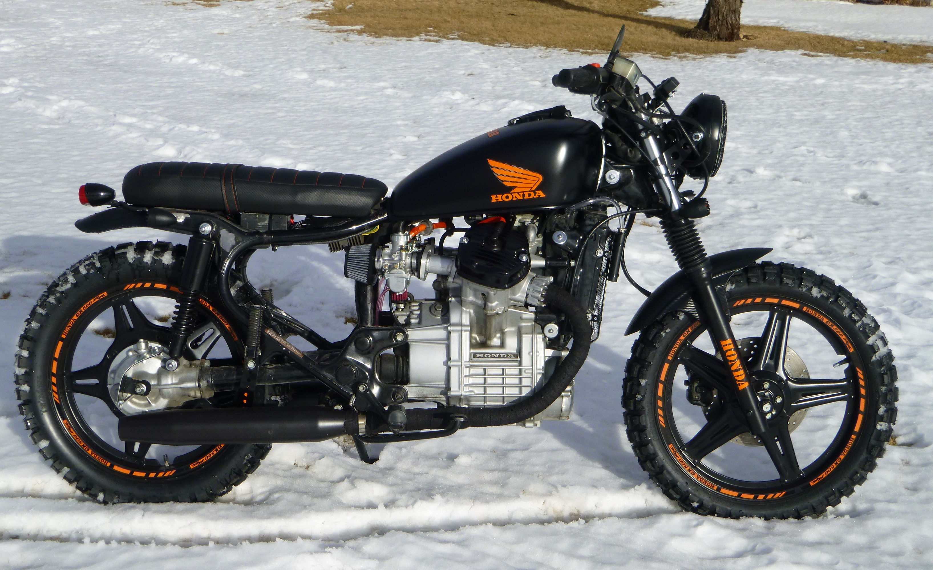 1982 CX 500 Street Tracker Build