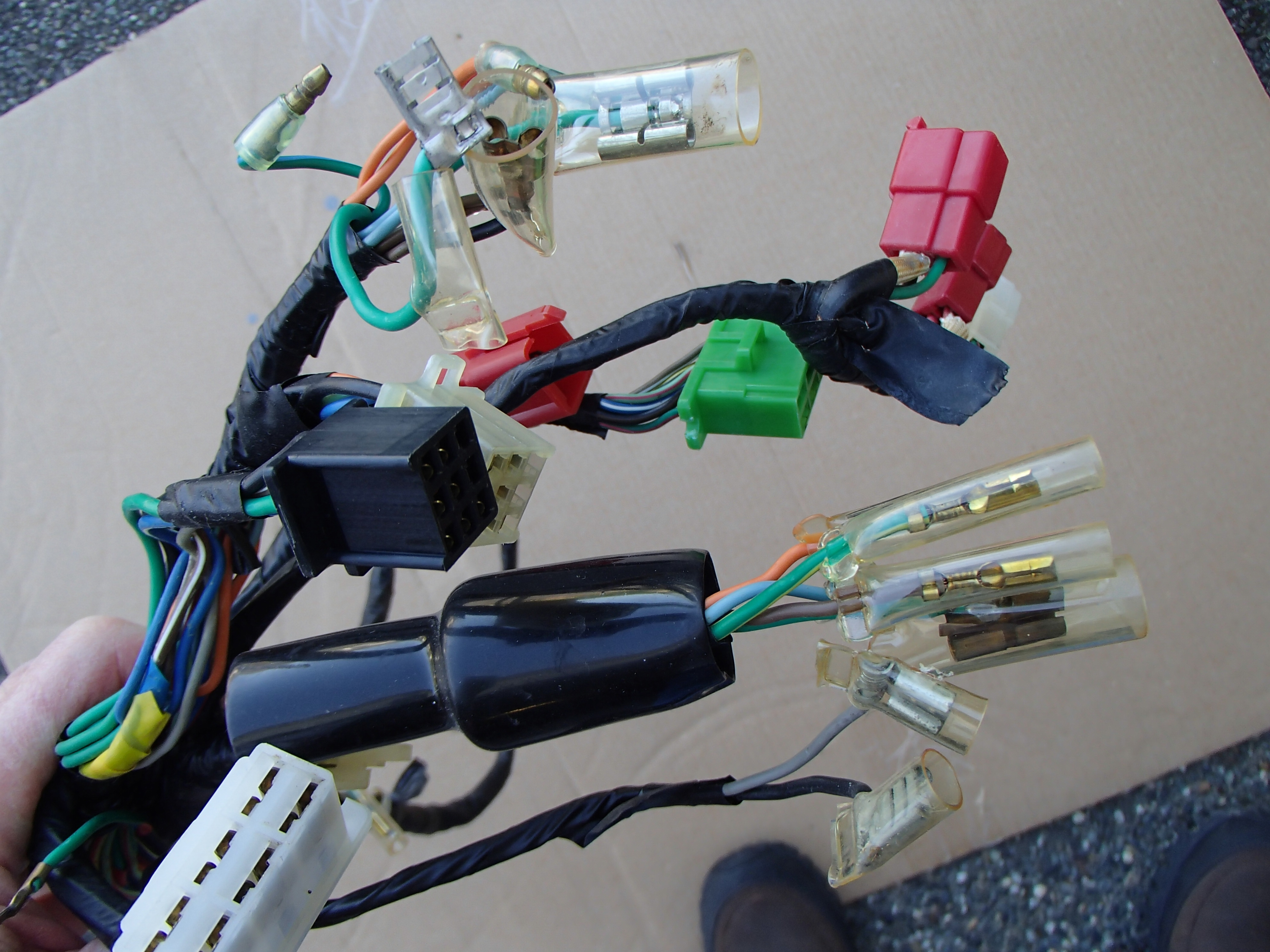 Very clean wiring harness for '79 Deluxe and Custom CX's for sale. $25.00  plus shipping. Please PM me if interested.