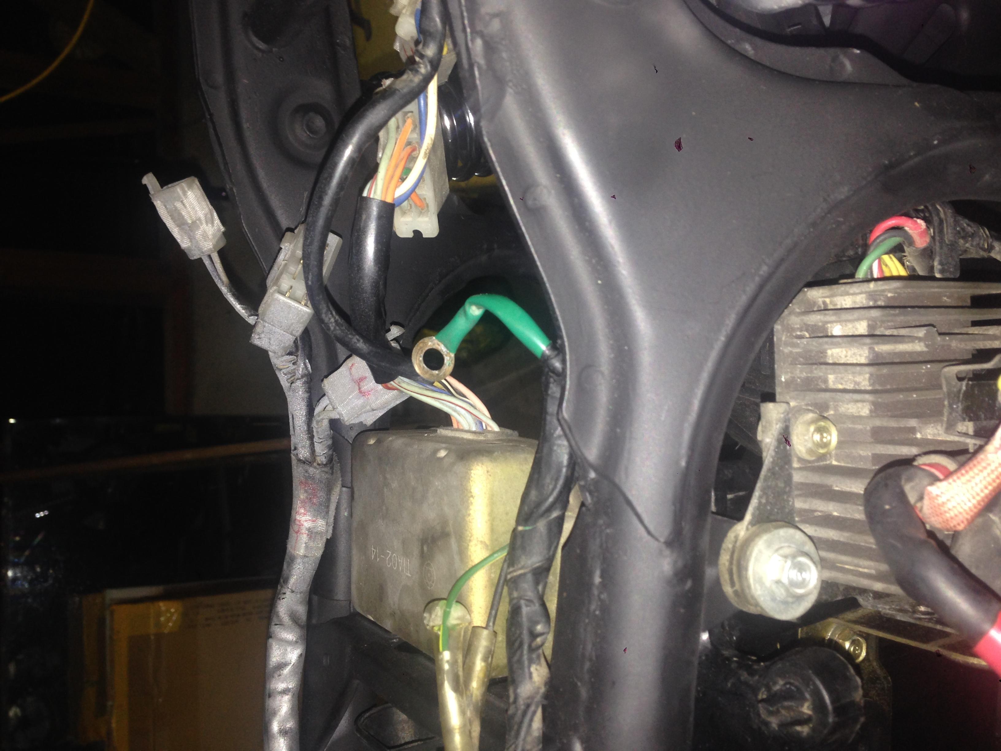 1978 Honda Cx500 Wiring Help