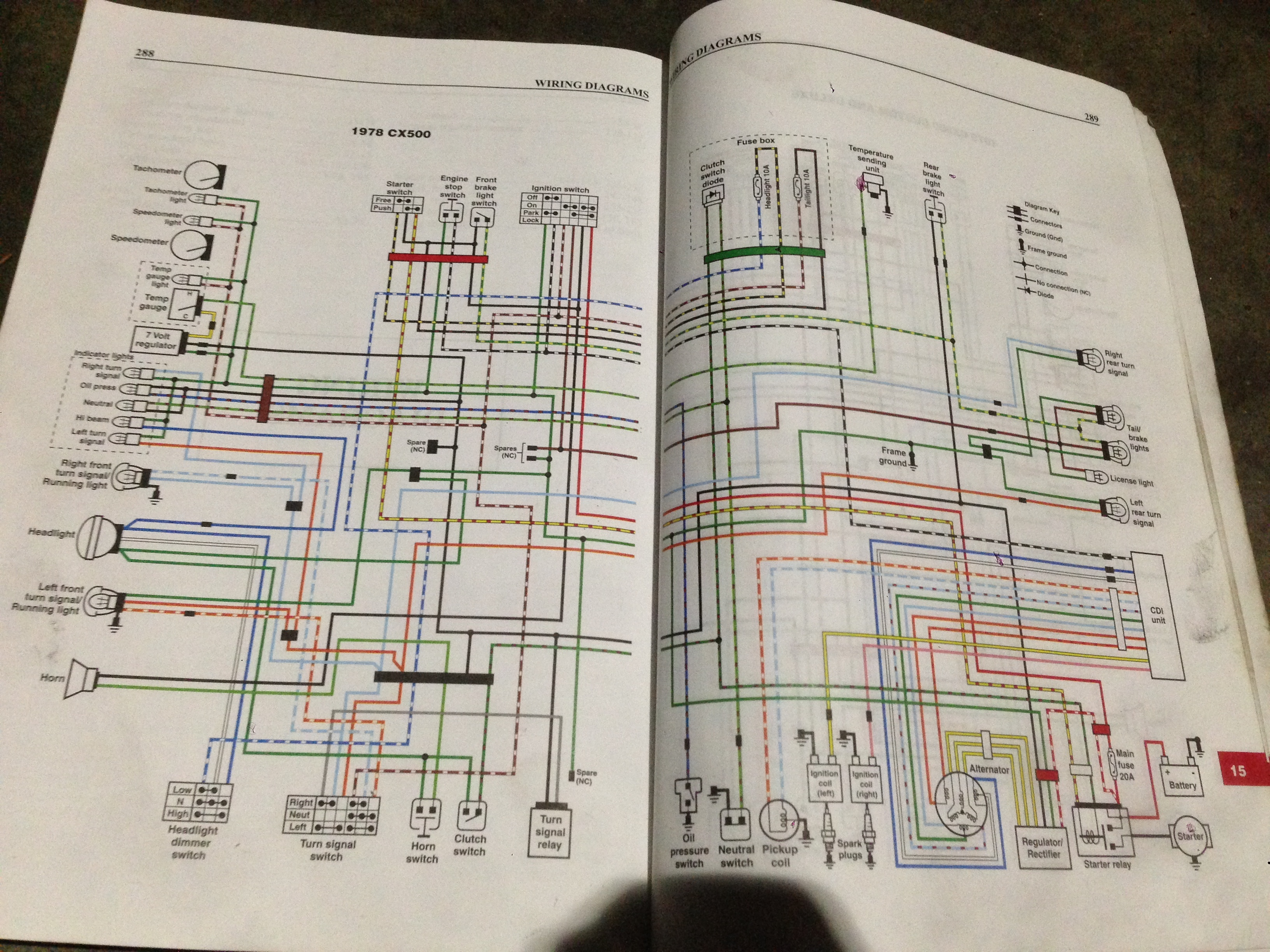 1978 Honda CX500 wiring help | Honda CX 500 ForumCX500 forum