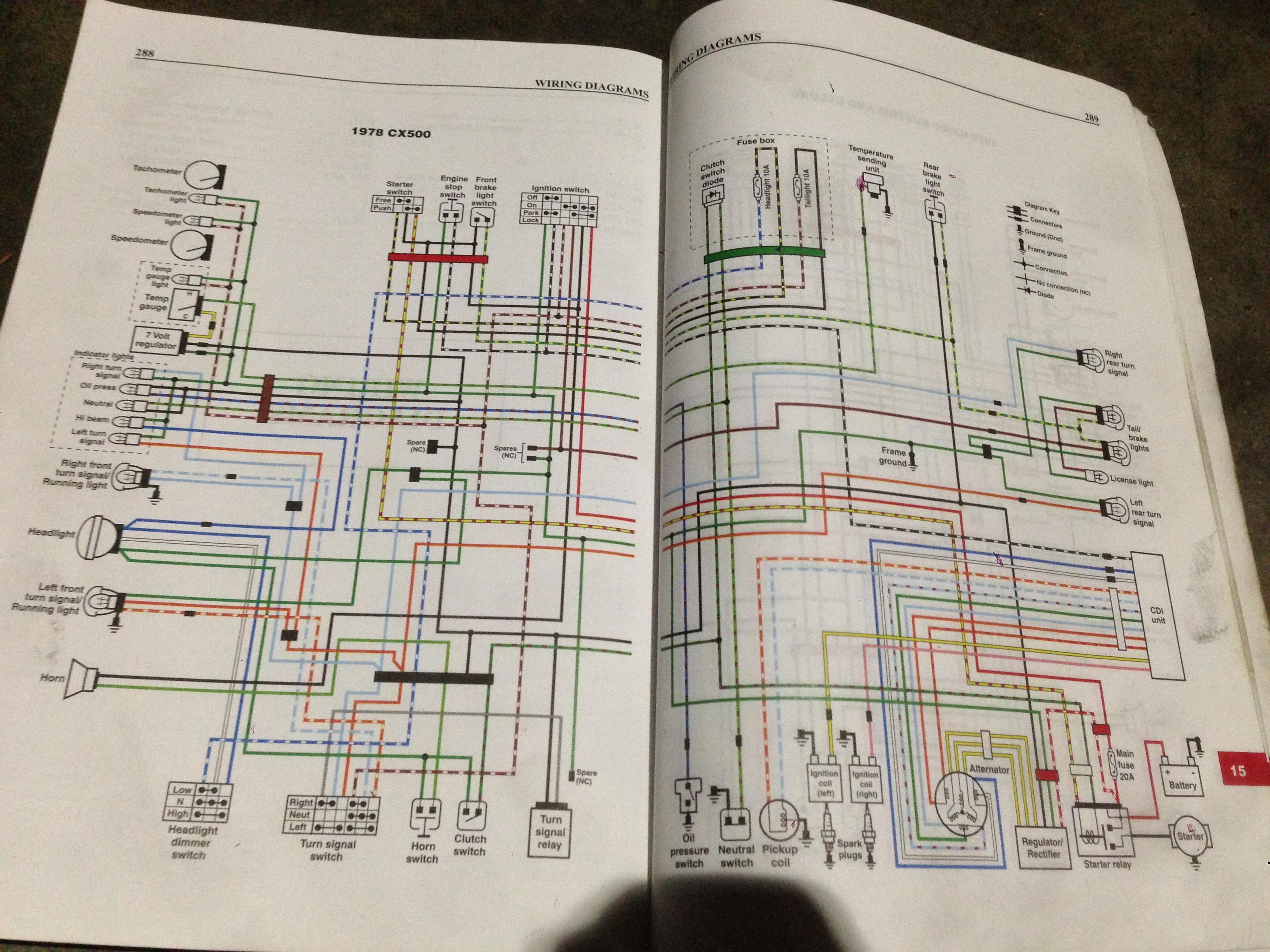 1978 honda cx500 wiring help | honda cx 500 forum  cx500 forum