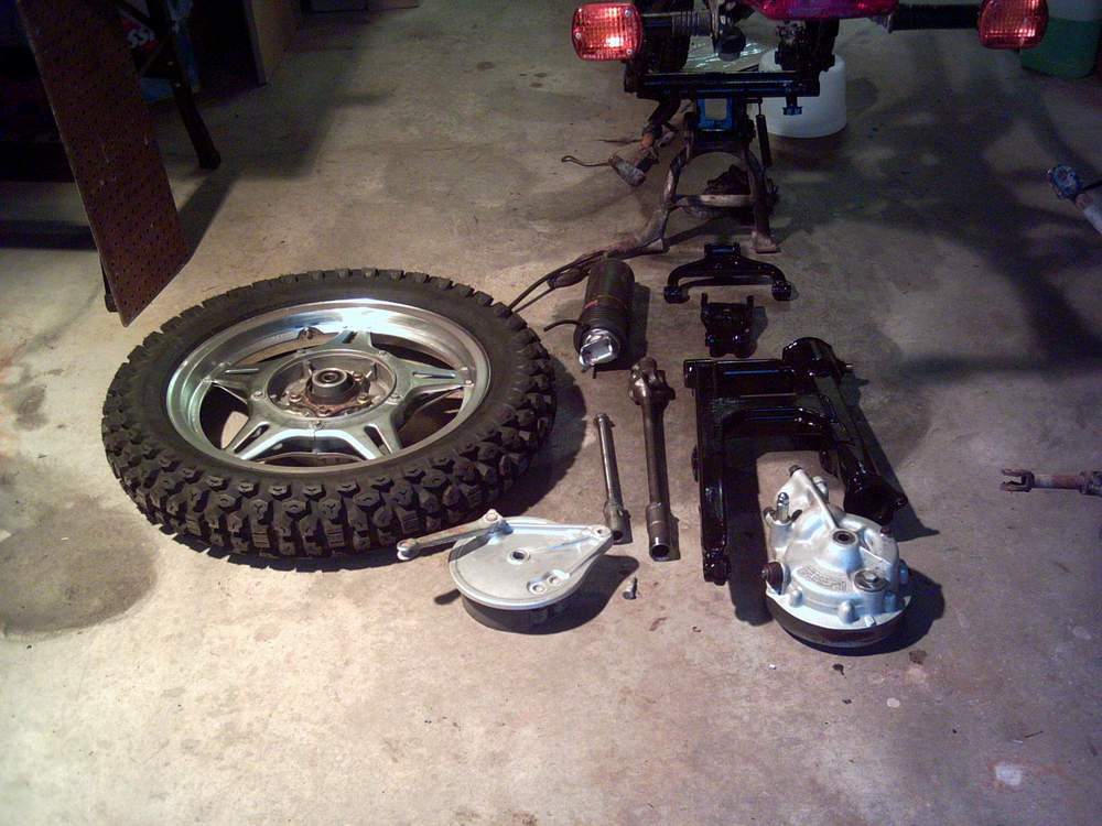 Name:  Rear end parts for 650.JPG