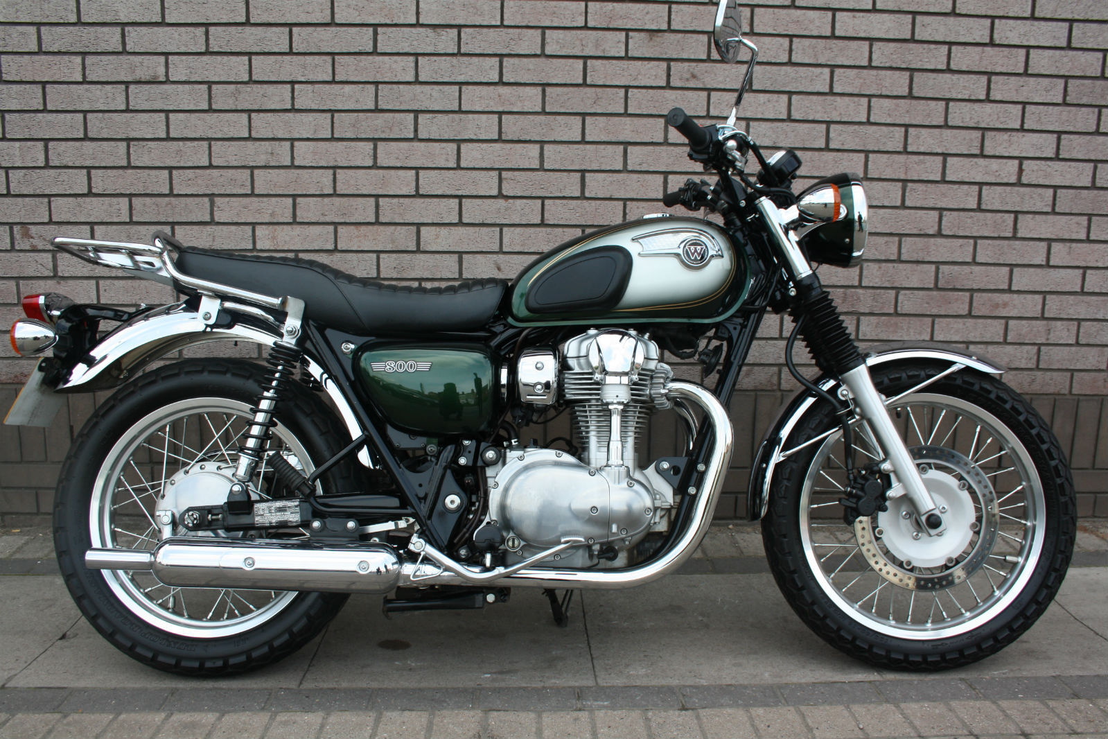 What A Beauty W800 From Kawasaki