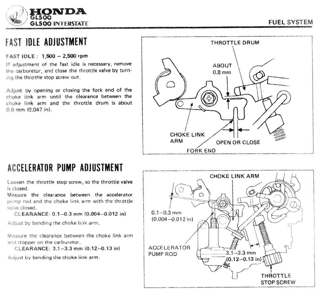 1981 CX500 Deluxe throttle stop screw (idle adjustment)