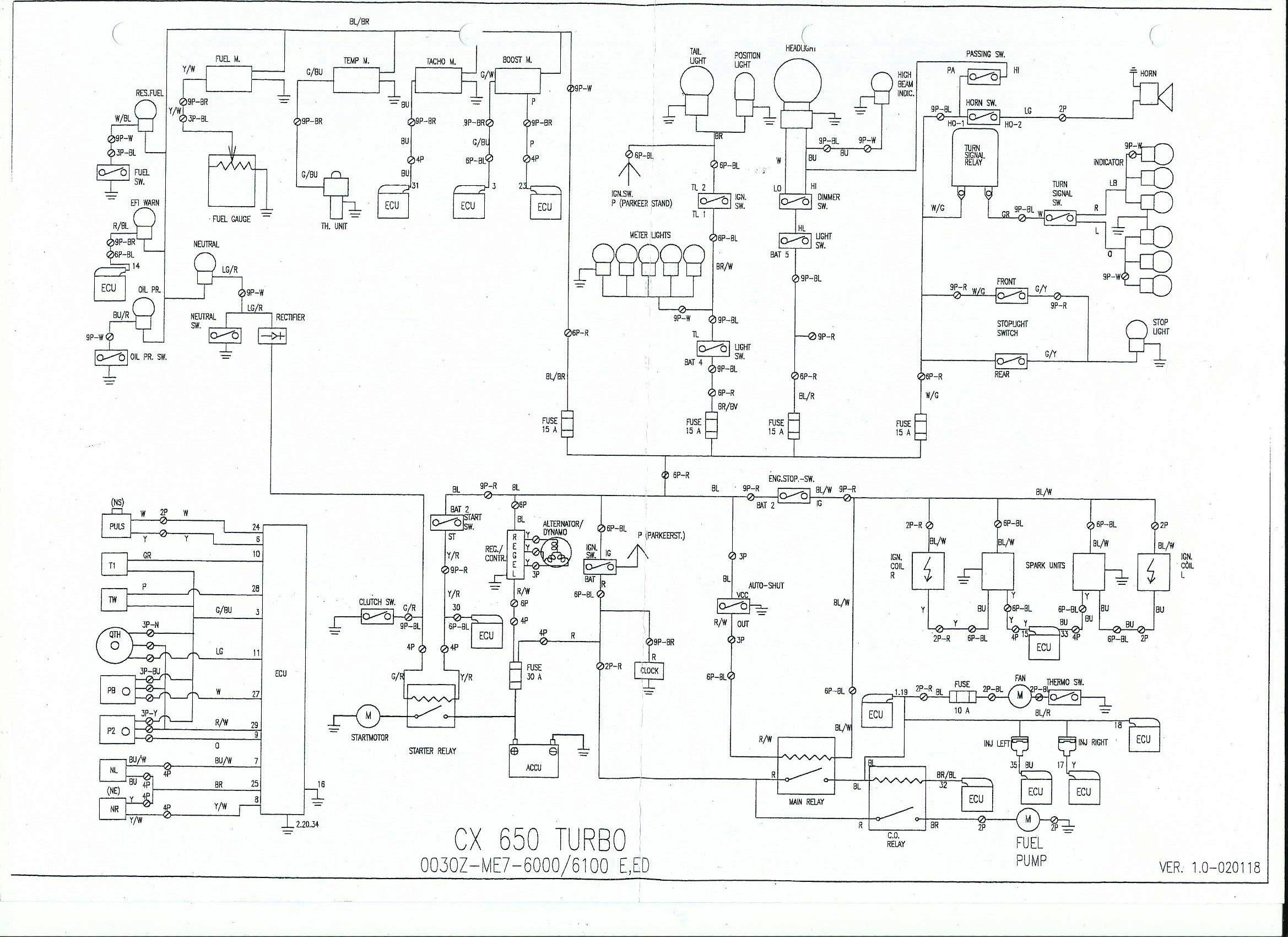 Wiring Diagram 650t